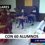 Con 60 alumnos