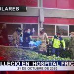 Falleció en Hospital Fricke