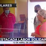 Destacada labor solidaria