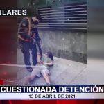 Cuestionada detención