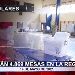 Serán 4.869 mesas en la región