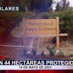 Son 44 hectáreas protegidas