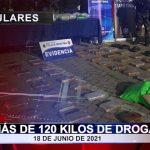 Más de 120 kilos de droga